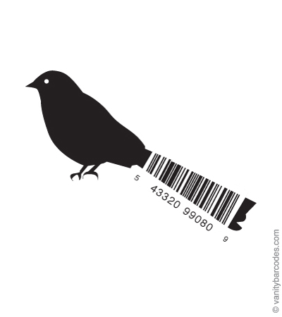 Bird - mã vạch